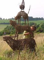 Willow Animal Sculptures