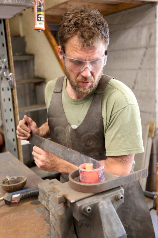 richard knife making 1
