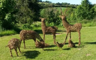 Willow Animal Sculptures course