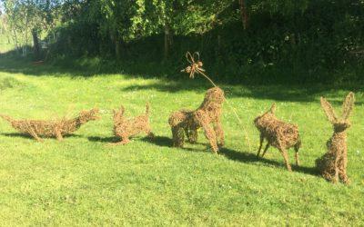 Willow Animal Sculpture