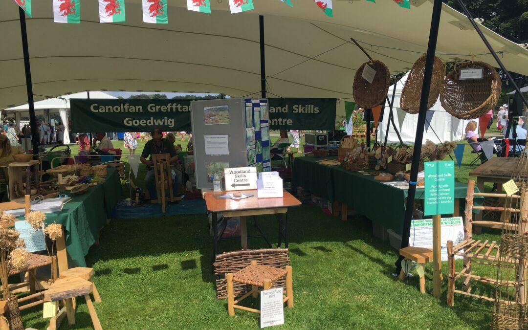 Woodland Skills Centre at RHS Tatton Flower Show